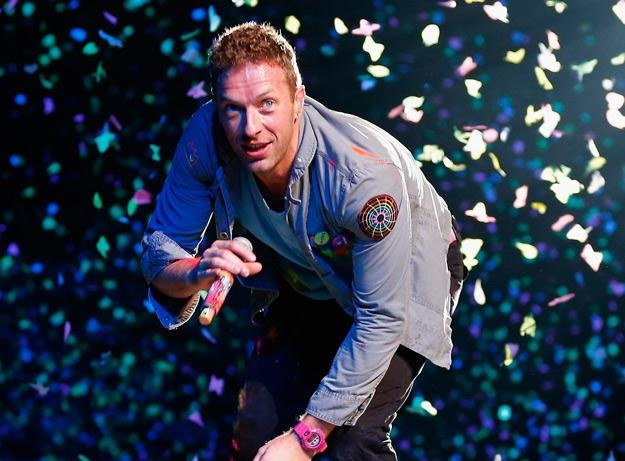 Chris Martin, wokalista Coldplay - fot. Shane Wenzlick /Getty Images/Flash Press Media