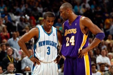 Chris Paul i Kobe Bryant /AFP