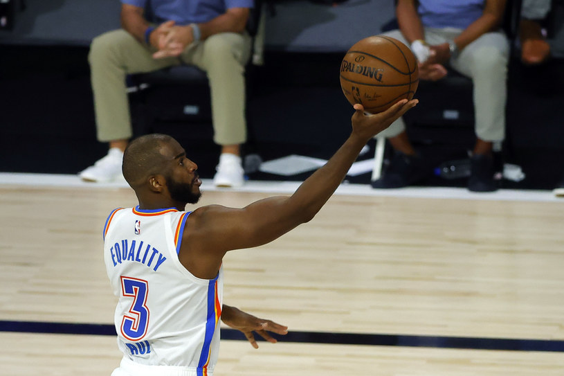 Chris Paul z Oklahoma City Thunder /Kevin C. Cox /Getty Images