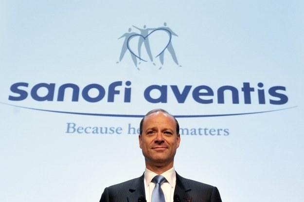 Chris Viehbacher, prezes Sanofi-Aventis /AFP
