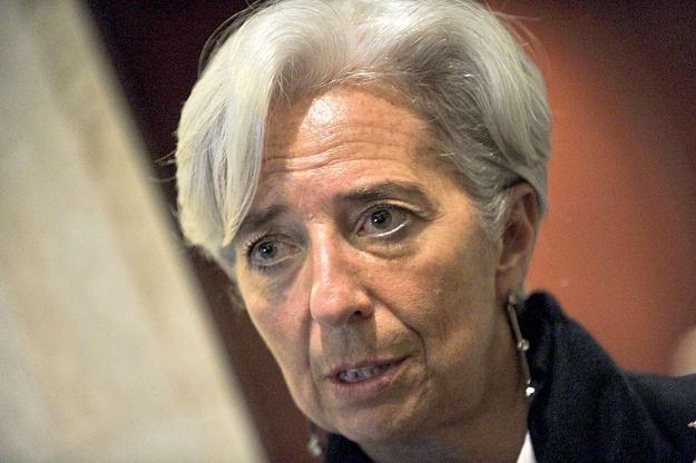 Chrisitne Lagarde, szefowa MFW /AFP