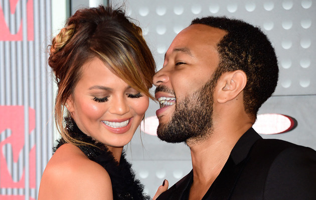 Chrissy Teigen i John Legend /Frazer Harrison /Getty Images