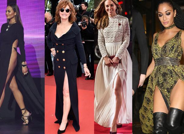 Chrissy Teigen, Susan Sarandon, Kate Middleton, Nicole Scherzinger /East News/Splash News /Getty Images