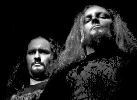 Christ Agony - Cezar i Reyash (z lewej) /
