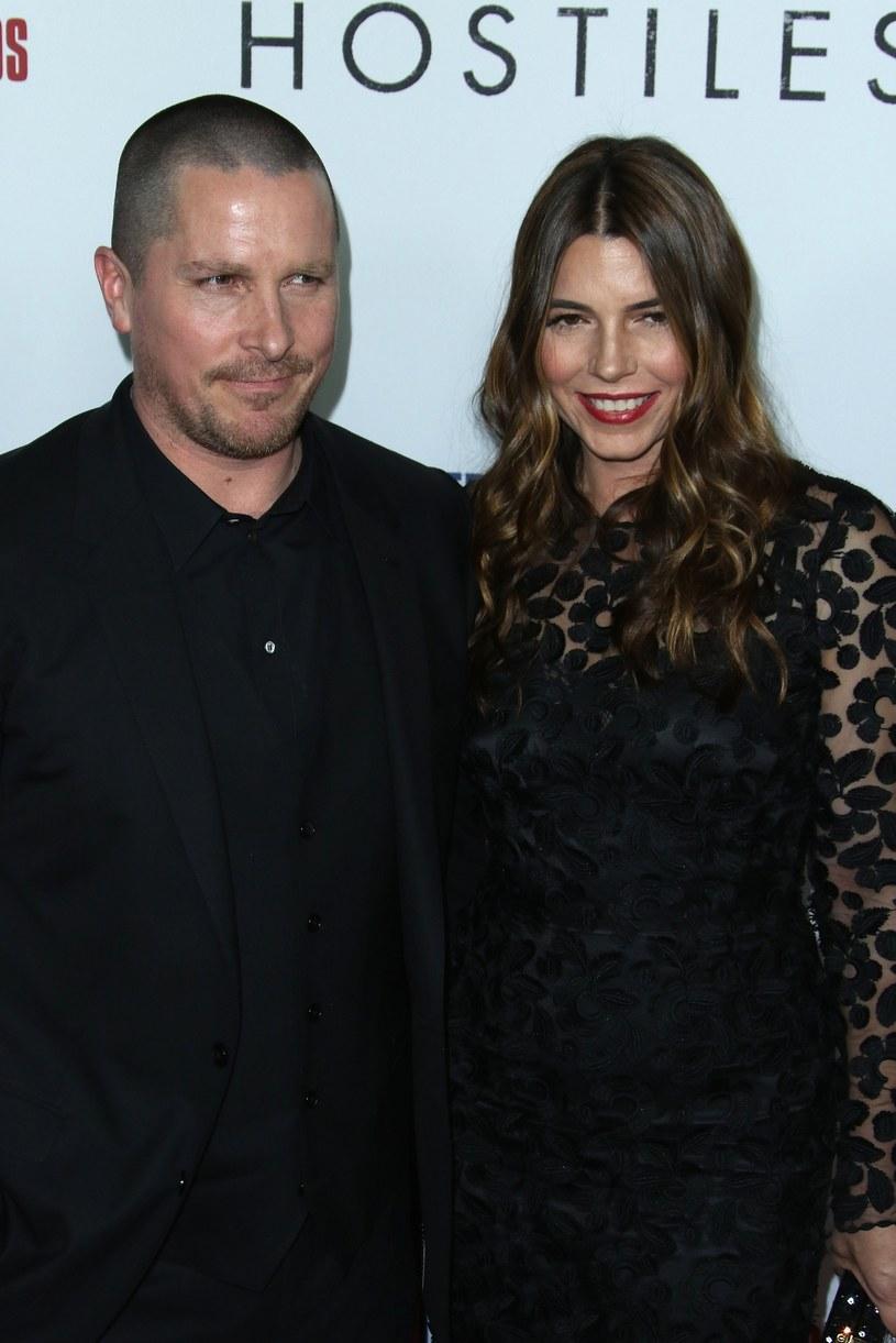 Christian Bale z żoną /East News