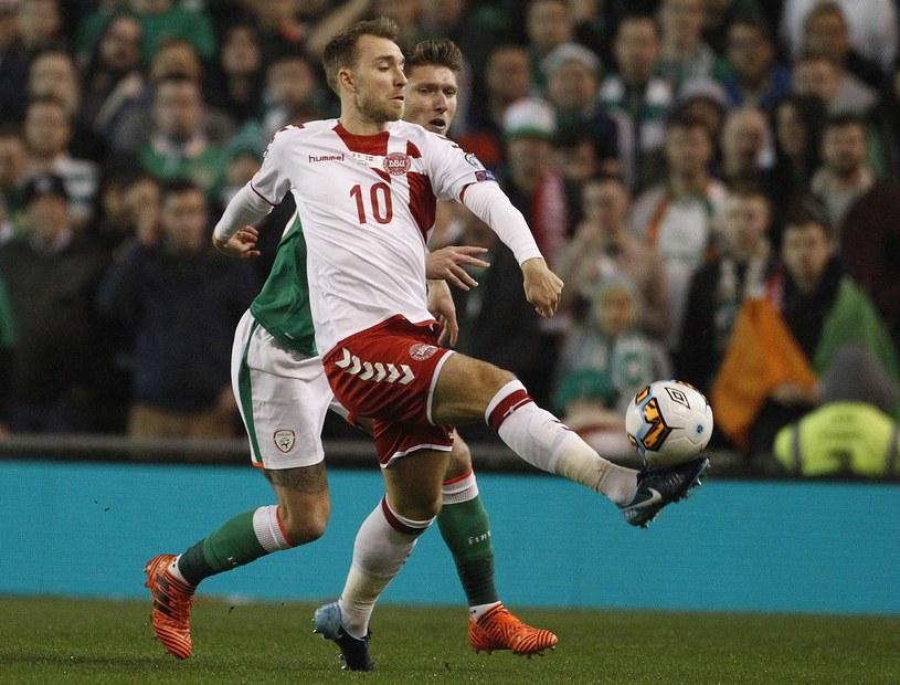 Christian Eriksen zdobył kapitalne bramki dla Danii /East News