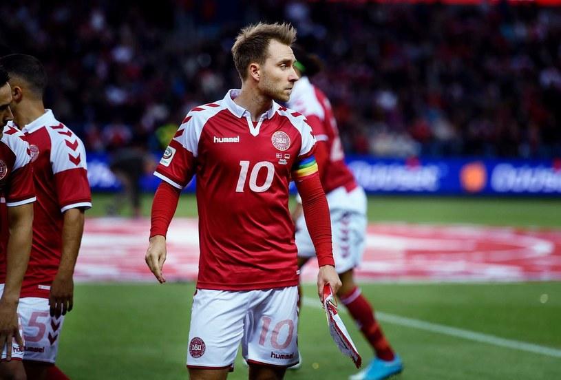 Christian Eriksen /LISELOTTE SABROE    /AFP