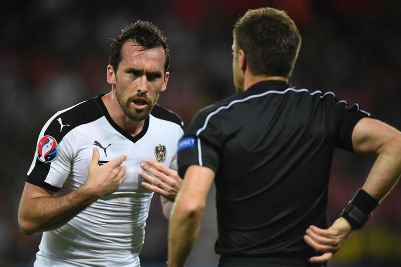 Christian Fuchs nie o takim zakończeniu reprezentacyjnej kariery marzył /AFP