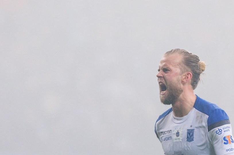 Christian Gytkjaer może przegapić kolejny ważny mecz /Tomasz Jastrzębowski /East News
