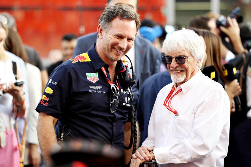 Christian Horner i Bernie Ecclestone /Getty Images