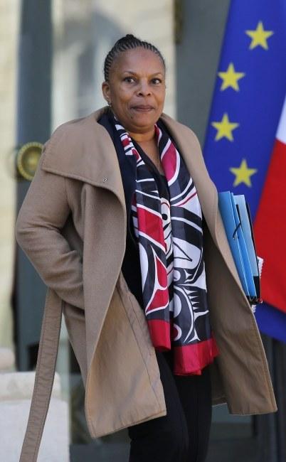 Christiane Taubira /PAP/EPA/YOAN VALAT /PAP/EPA