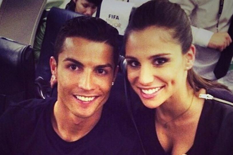 Christiano Ronaldo zostawił modelkę Irinę Shayk dla Lucii Villalon Puras, cenionej dziennikarki sportowej, która pracowała w najważniejszych hiszpańskich stacjach telewizyjnych (m.in. TVE)/ fot. Instagram /&nbsp