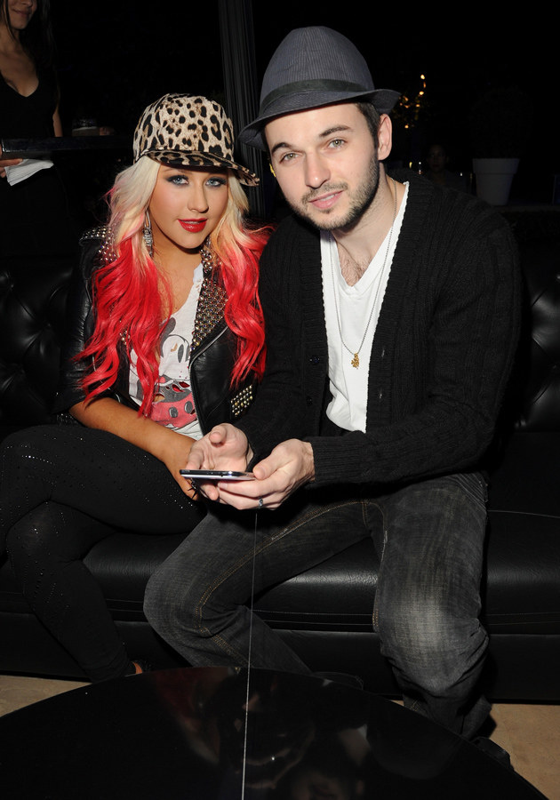 Christina Aguilera i Matt Rutler (partner) /Getty Images