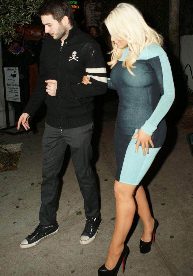 Christina Aguilera i Matt Rutler /Splashnews