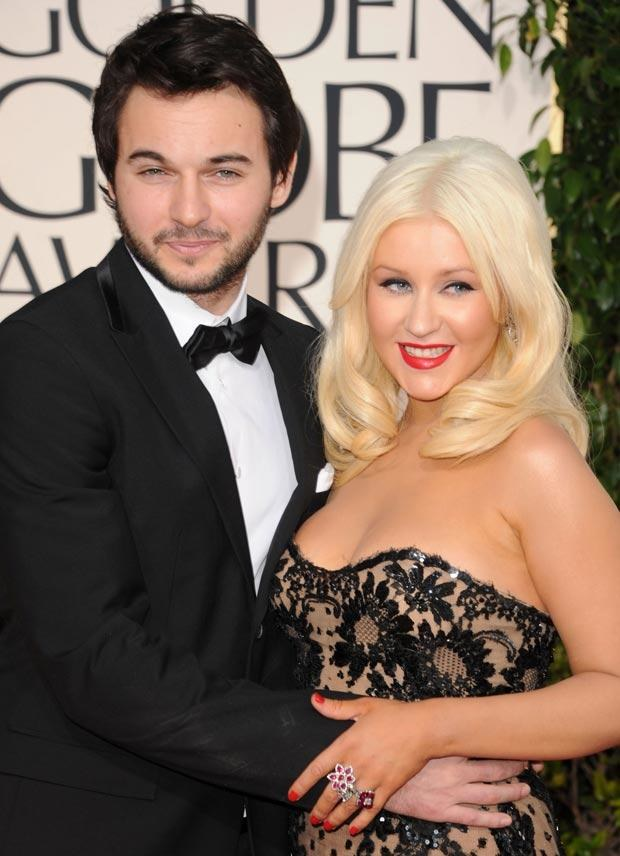 Christina Aguilera i Matthew Rutler, fot. Jason Merritt   /Getty Images/Flash Press Media