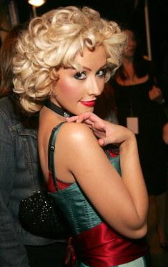 Christina Aguilera marzy o roli gwiazdy filmów klasy B. /AFP