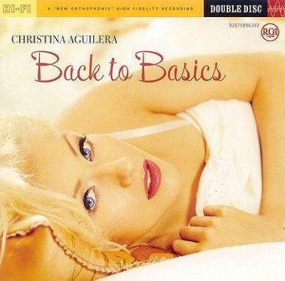 "Christina Aguilera na okładce ""Back To Basics"" /"