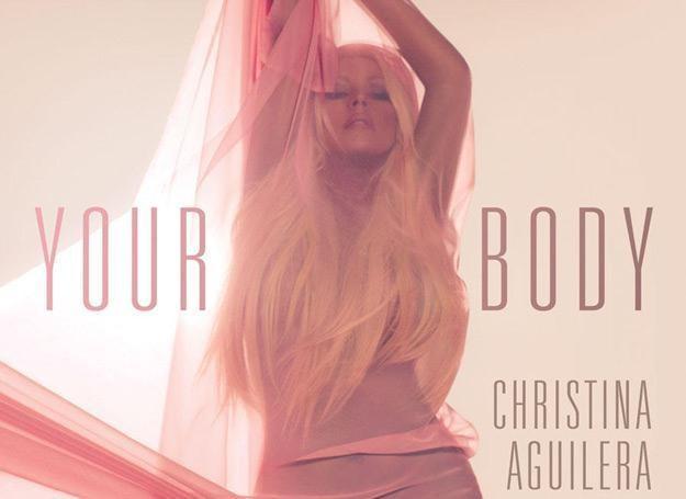 """Christina Aguilera na okładce singla """"Your Body"""" /"""
