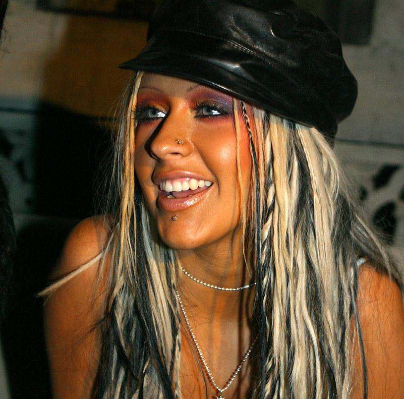 Christina Aguilera na początku kariery stawiała na balejaż /East News