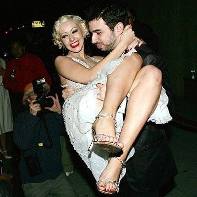 Christina Aguilera poślubiła Jordana Bratmana /