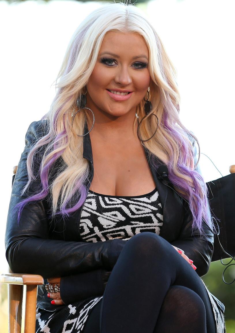 Christina Aguilera, sierpień 2012 roku /Christopher Polk /Getty Images