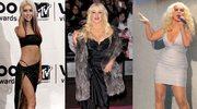 Christina Aguilera w 2000, 2010 i 2012 roku