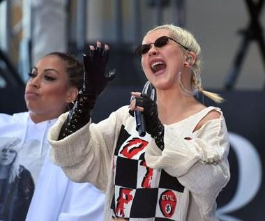 """Christina Aguilera w """"Rodzinie Addamsów"""""""