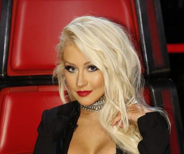 Christina Aguilera w wannie z szampanem przywitała Nowy Rok