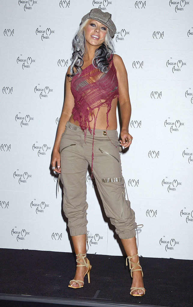 Christina Aguilera / Ron Galella/Ron Galella Collection  /Getty Images