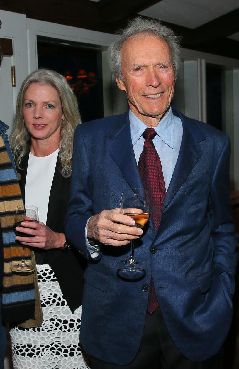 Christina Sandera i Clint Eastwood /Mark Davis /Getty Images