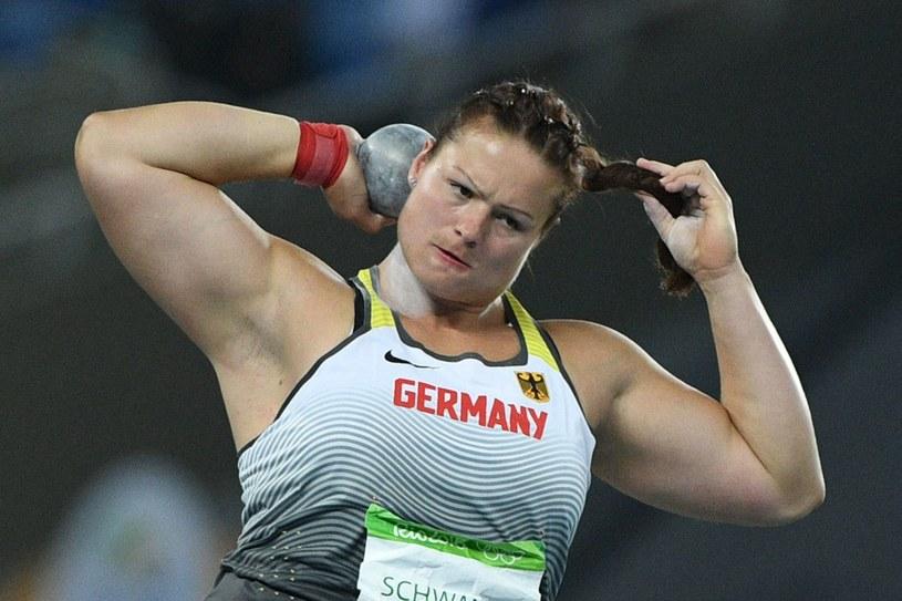 Christina Schwanitz. /AFP