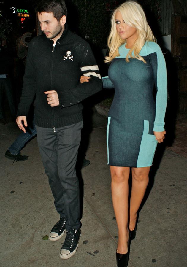 Christina ze swoim chłopakiem Mattem Rutlerem. /Splashnews