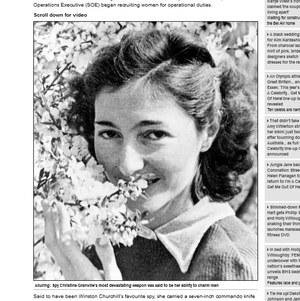 Christine Granville (Krystyna Skarbek) /dailymail.co.uk /INTERIA.PL