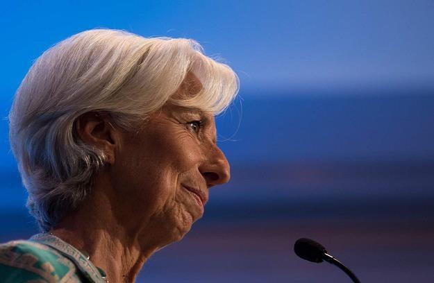 Christine Lagarde, dyrektor zarządzająca MFW /AFP