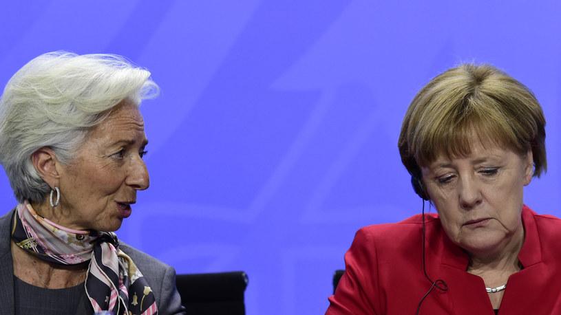 Christine Lagarde i Angela Merkel /AFP