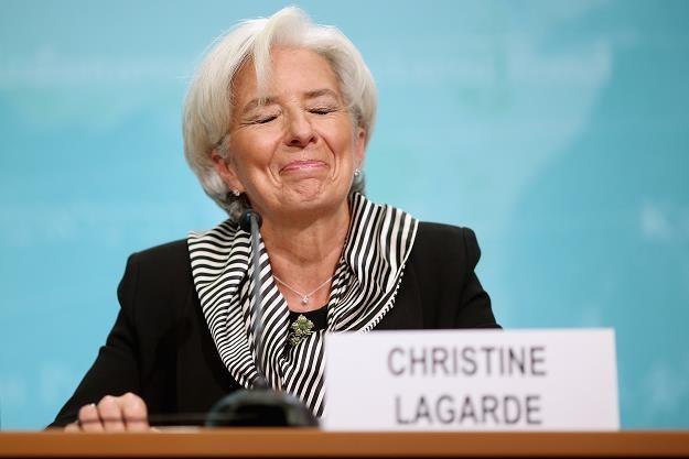 Christine Lagarde - szefowa MFW /AFP