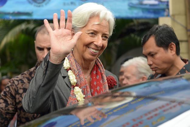 Christine Lagarde, szefowa MFW /AFP