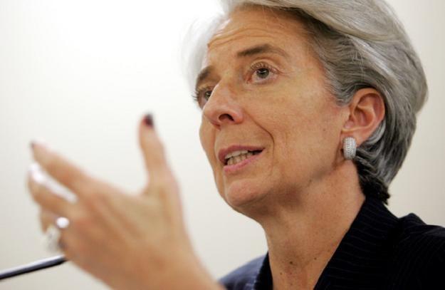 Christine Legarde, szefowa MFW /AFP