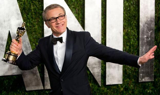 """Christoph Waltz z Oscarem za rolę w filmie """"Django"""" /AFP"""