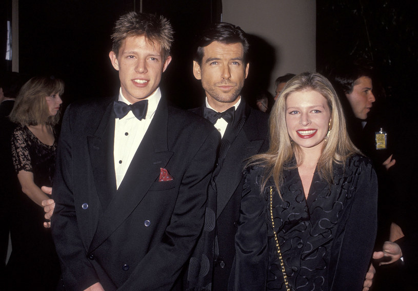 Christopher Brosnan, Pierce Brosnan, Charlotte Brosnan /Ron Galella, Ltd./Ron Galella Collection /Getty Images
