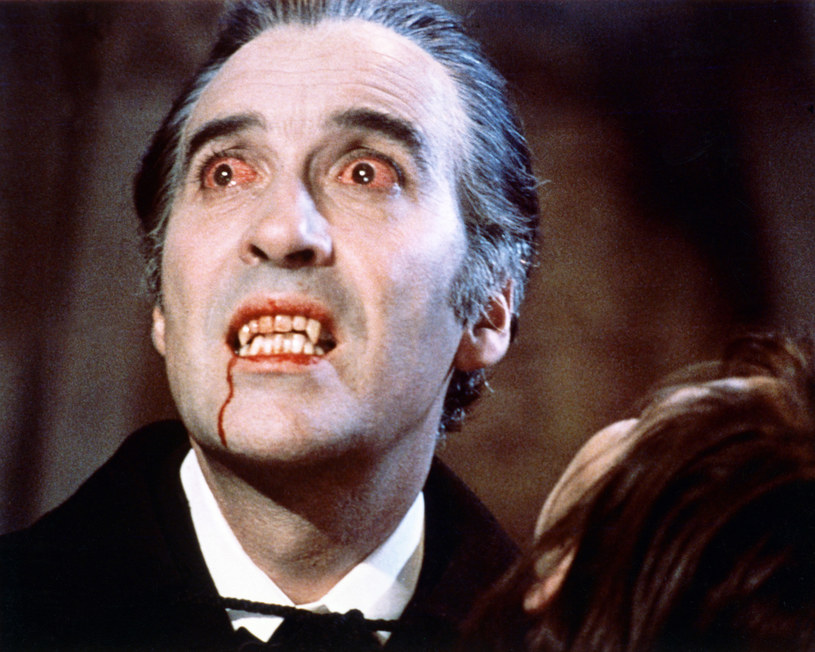 Christopher Lee jako Dracula (1958) /Silver Screen Collection /Getty Images