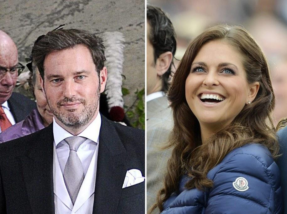 Christopher O'Neill i księżniczka Madeleine /SCANPIX SWEDEN FILE /PAP/EPA
