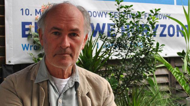 Christopher Petit we Wrocławiu podczas festiwalu Era Nowe Horyzonty /INTERIA.PL