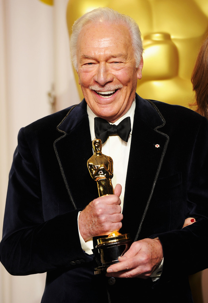 Christopher Plummer z Oscarem /Jason Merritt /Getty Images