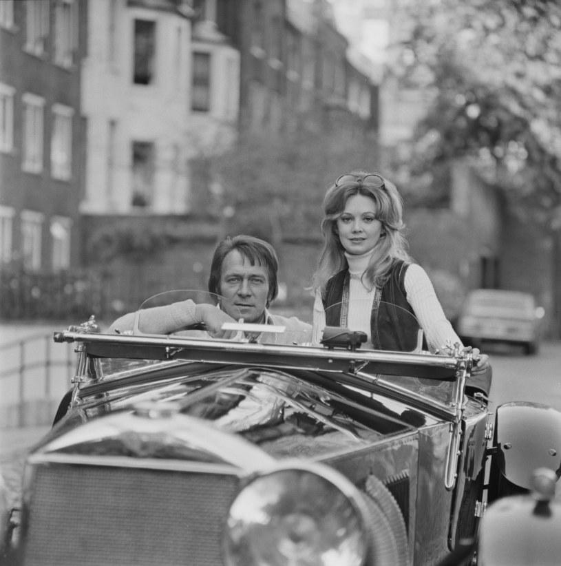 Christopher Plummer z trzecią żoną Elaine Taylor w 1971 roku /Dove /Getty Images