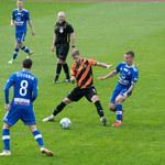 Chrobry Głogów - Bruk-Bet Termalica 0-2 w meczu 8. kolejki I ligi
