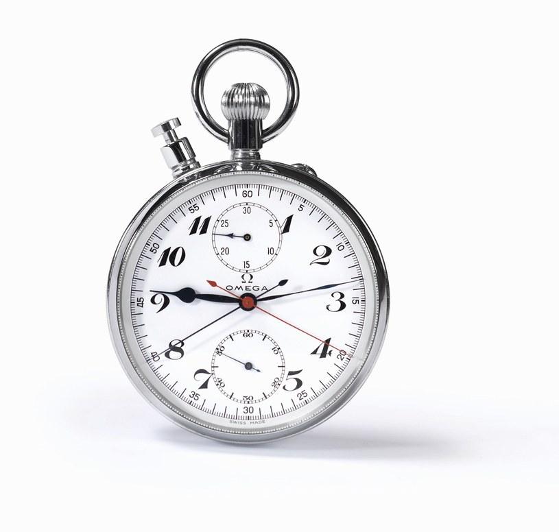 Chronograf Omegi z igrzysk olimpijskich w 1936 roku /INTERIA.PL
