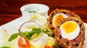 Chrupiące jajka po irlandzku