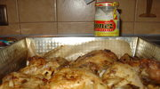 Chrupiący kurczak pieczony z przyprawami i majonezem