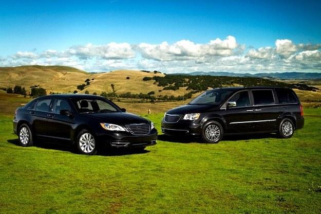 Chrysler 200 i odświeżony town & country /